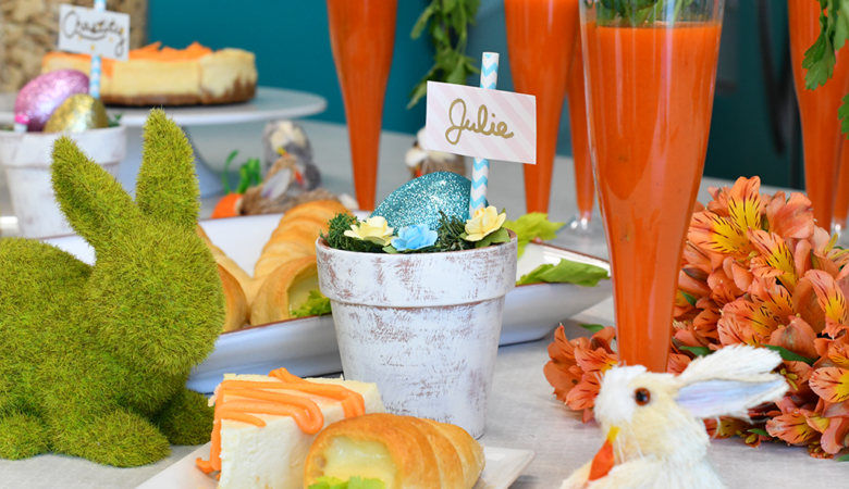 Tips on how to host an Easter brunch #easter #easterbrunch #brunch #partyideas