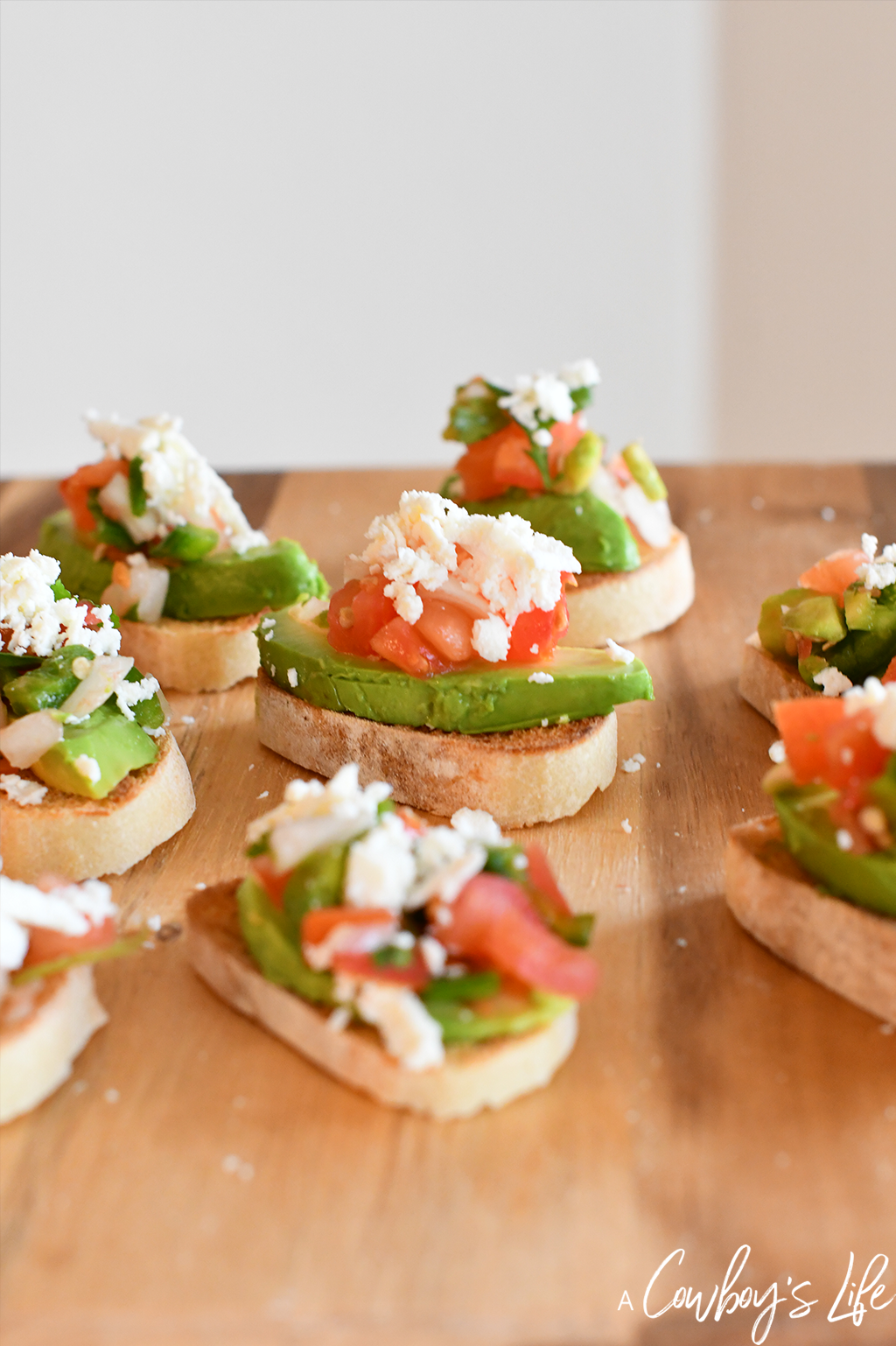 This spicy Mexican Bruschetta is quick, simple and perfect for any party!