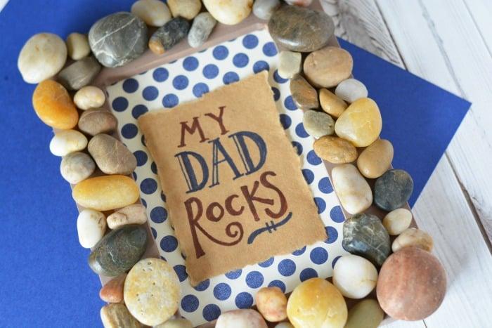 MY DAD ROCKS FRAME