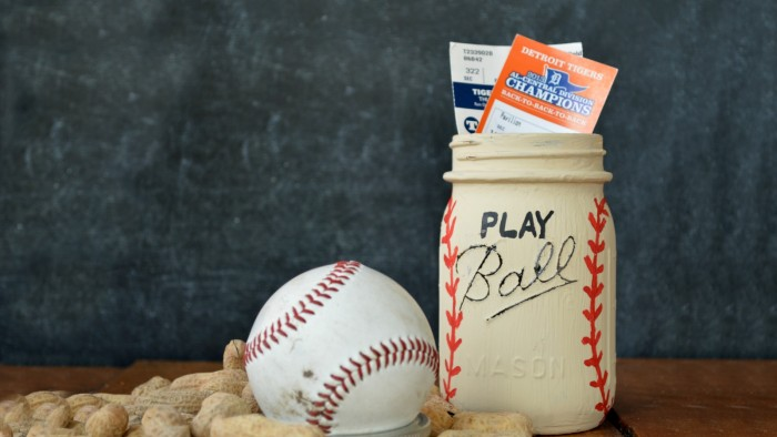 PLAY BALL MASON JAR GIFT Mad in Crafts