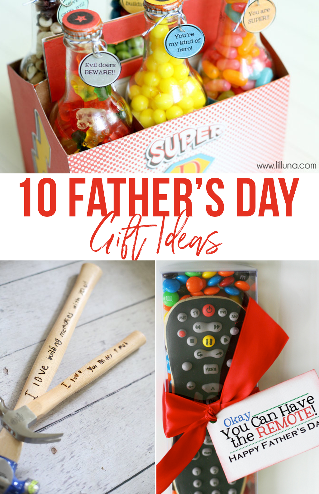 Father's Day Gift Ideas. Here are 10 gift ideas that will make fantastic Father's Day gifts!