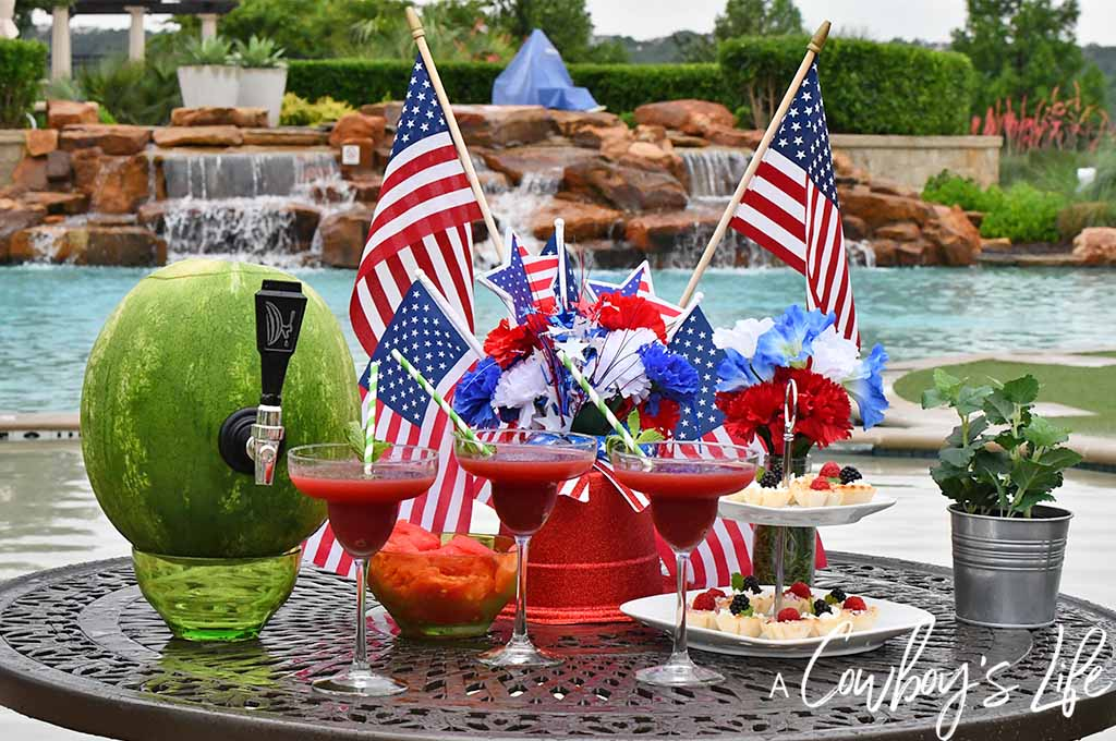 Dollar Tree Patriotic Centerpiece