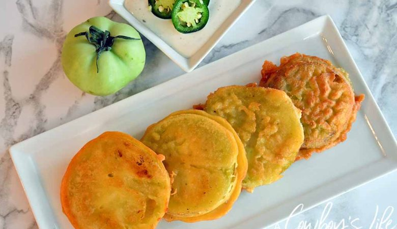 Fried Green Tomatoes | Tomato Recipes | Southern Recipes | Side Dishes #friedgreentomatoes #tomatoes #tomatorecipes
