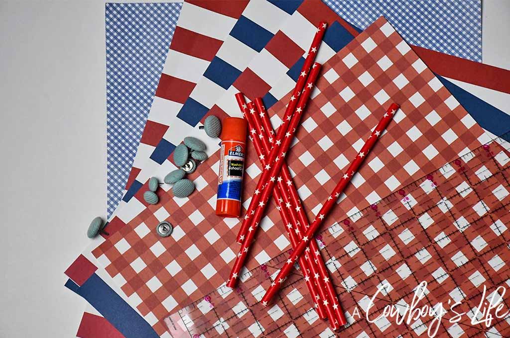 Easy Patriotic Pinwheel Craft | DIY Pinwheel | Summer Crafts | 4th of July Crafts | Fourth of July Craft  #pinwheel #pinwheelcraft #summercraft