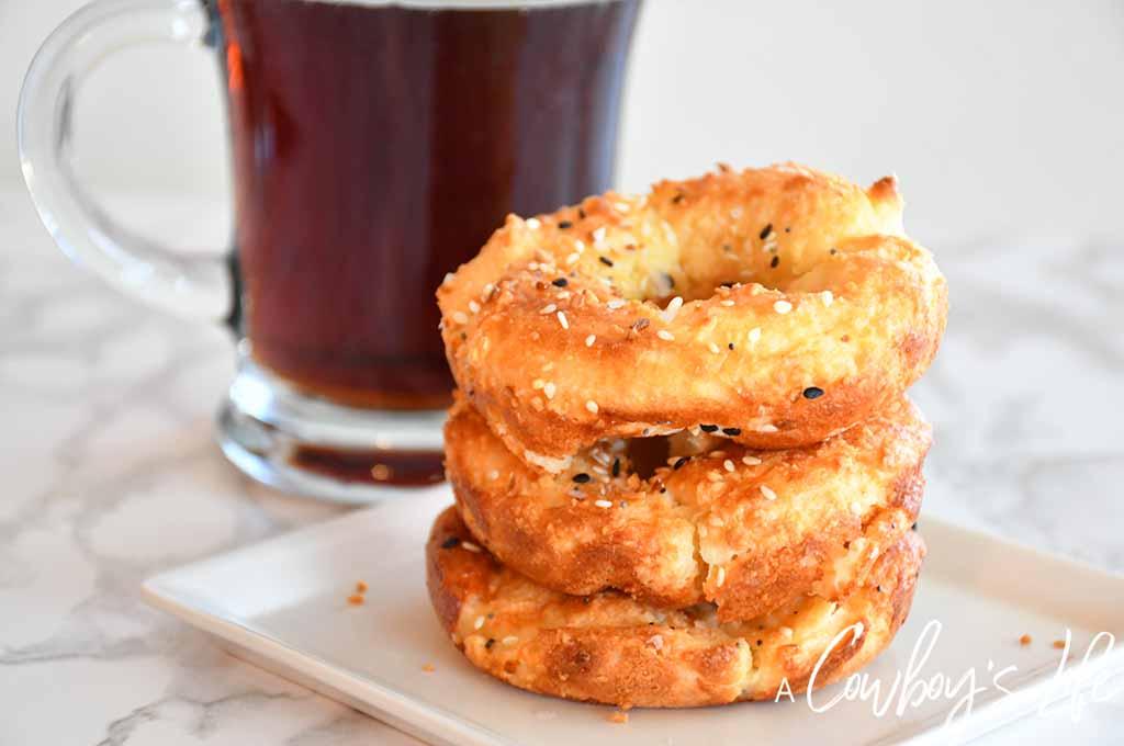 5 Ingredient Keto Bagel Recipe | Keto Bagels | Everything Bagels | Keto Breakfast #ketobagels #everythingbagels #ketobreakfast