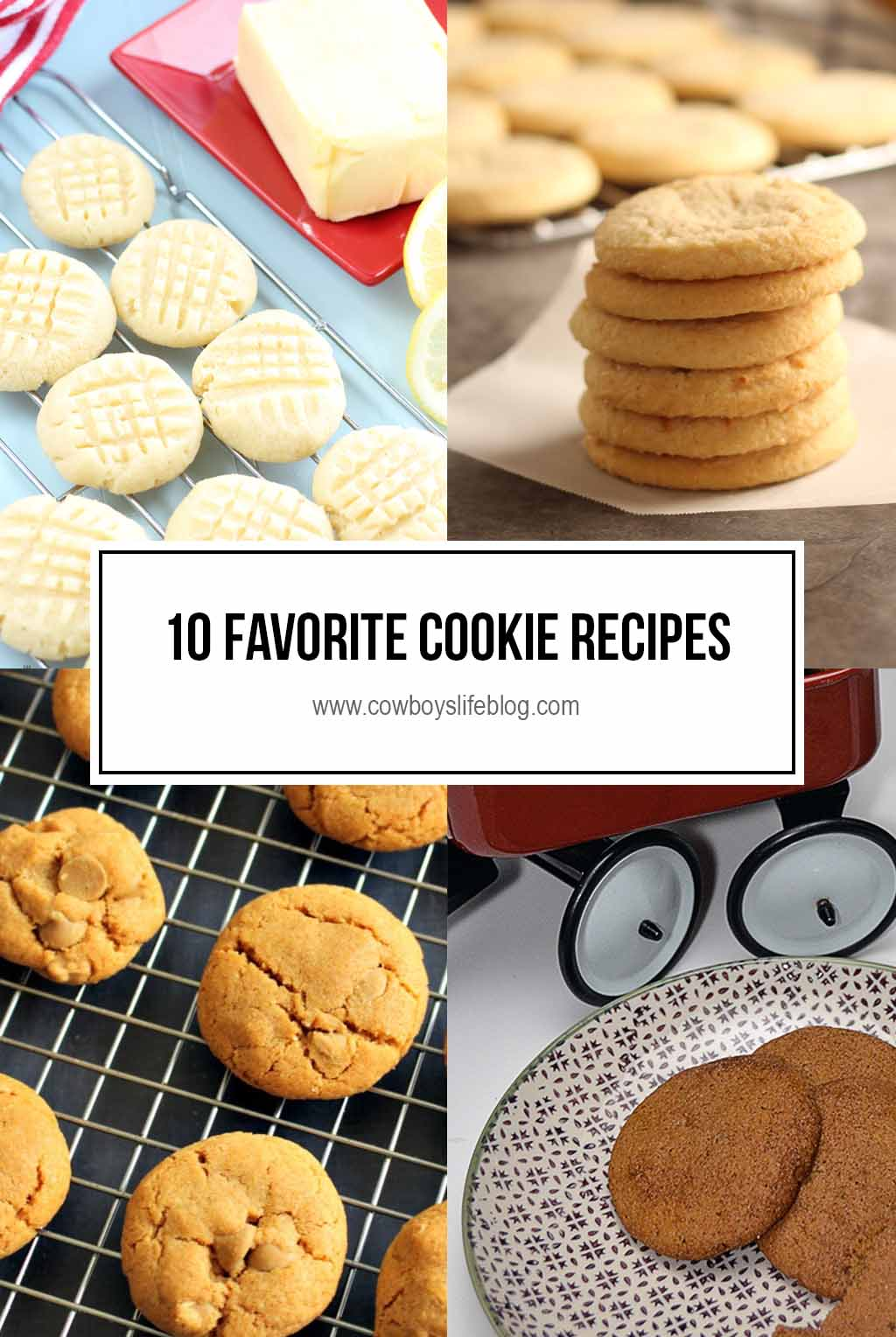 My Top 10 Favorite Cookie Recipes | Cookie Recipes | Baking | Desserts #cookierecipes #bakingrecipes #cookies