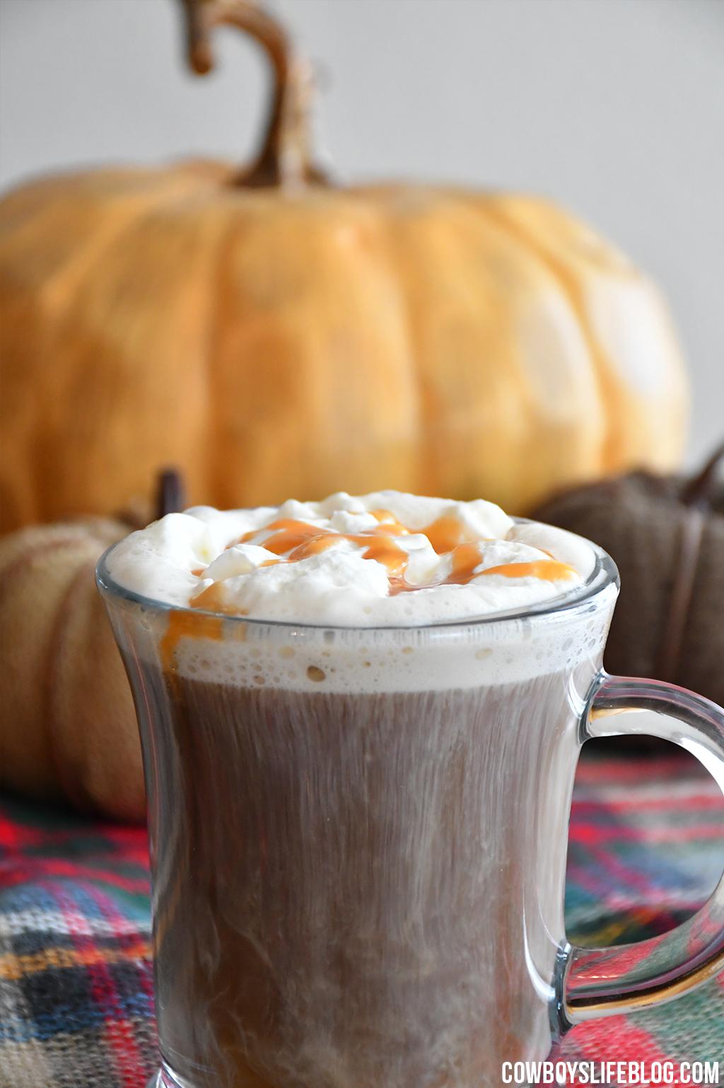 Keto Salted Caramel Coffee