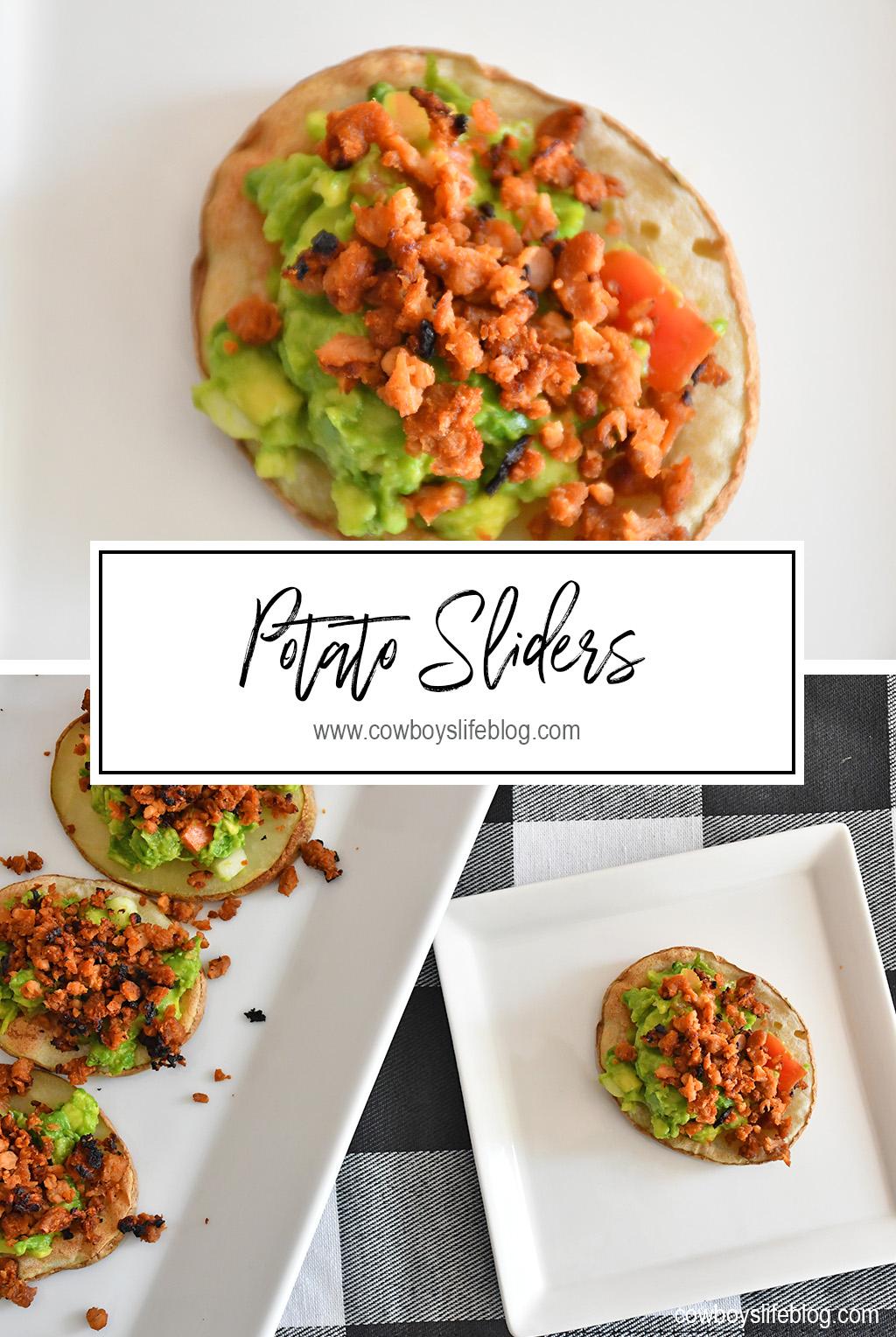 How to make Potato Guacamole Sliders
