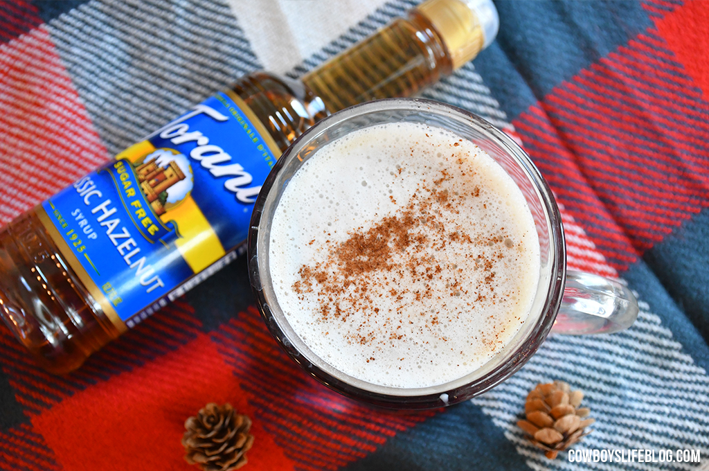 How to Make Chocolate Hazelnut Latte