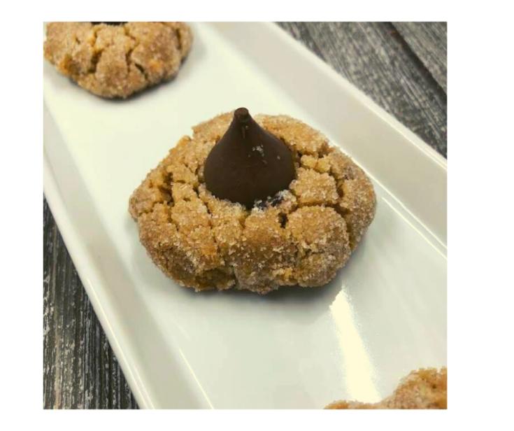 Air Fryer, Peanut Butter Kiss Cookies Recipe