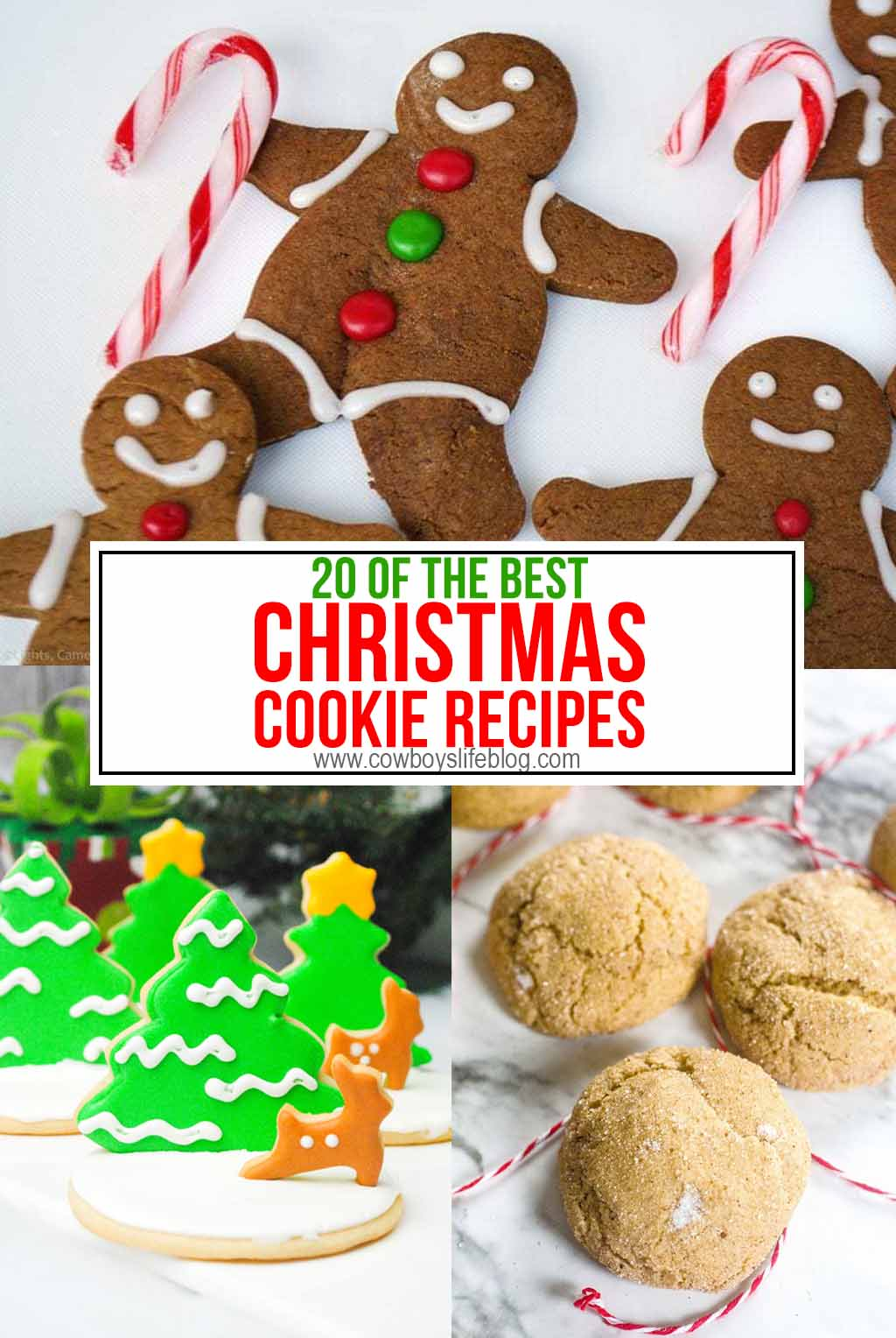 20 Amazing Christmas Cookie Recipes