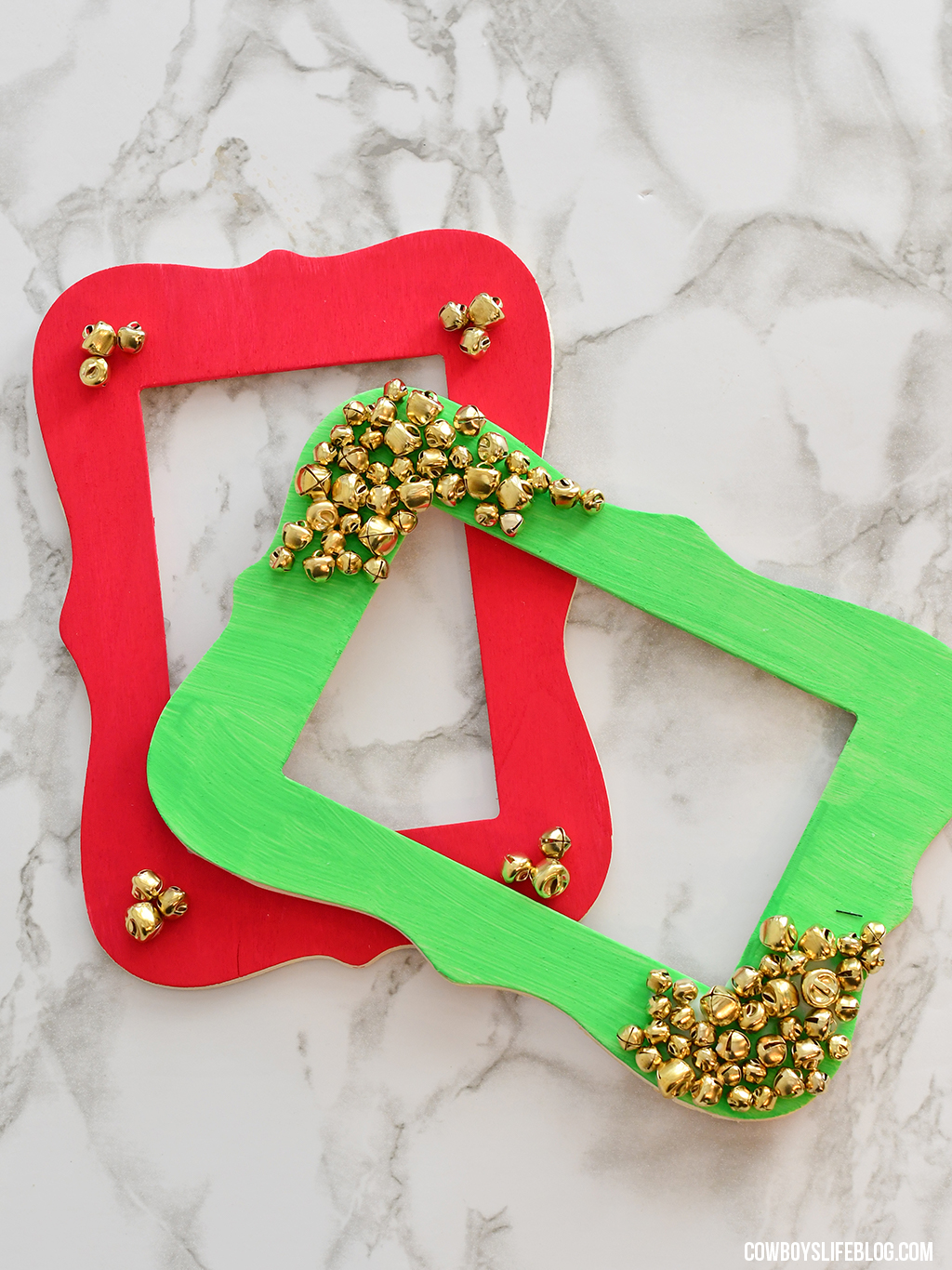How to make DIY Holiday Photo Frame
