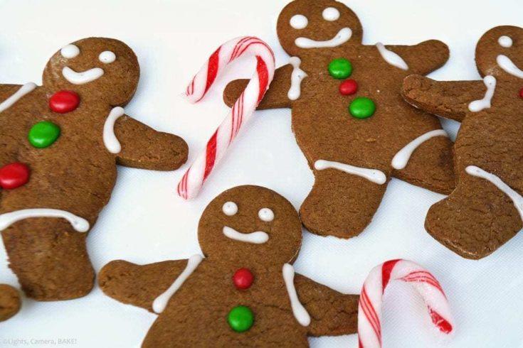 Gingerbread Men Recipe - Lights, Camera, BAKE! | Addictive Baking, Desserts & Sweet Treat Recipes