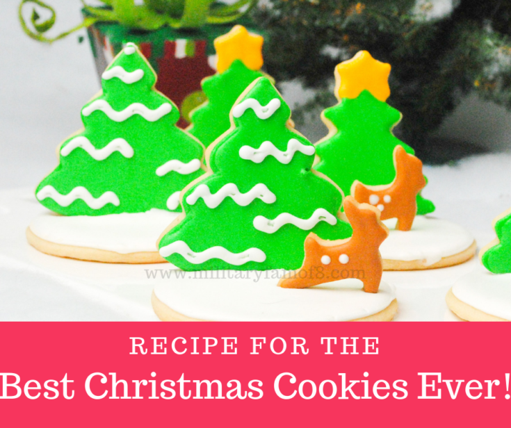 This is our Recipe for the Best Christmas Cookies Ever!