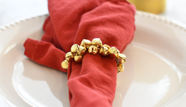 How to make DIY Christmas Napkin Rings