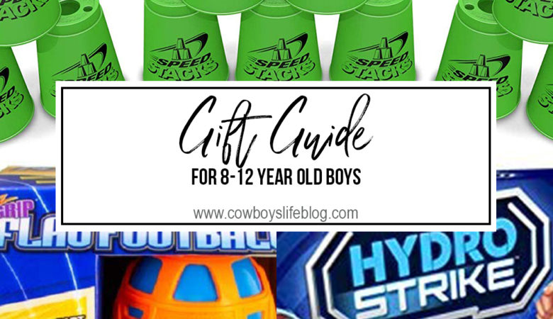 Gift Guide for 8-12 year old boys