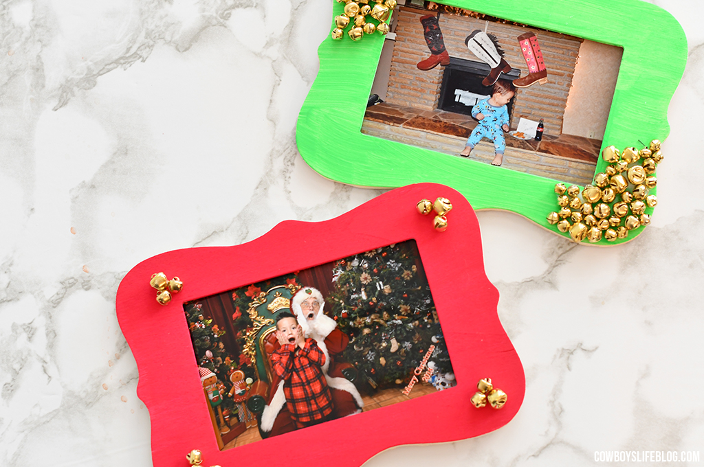 DIY Holiday Photo Frame