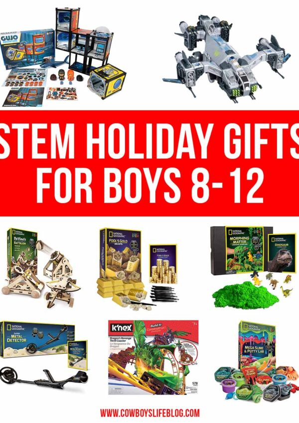 STEM Gift Guide for Boys 8-12