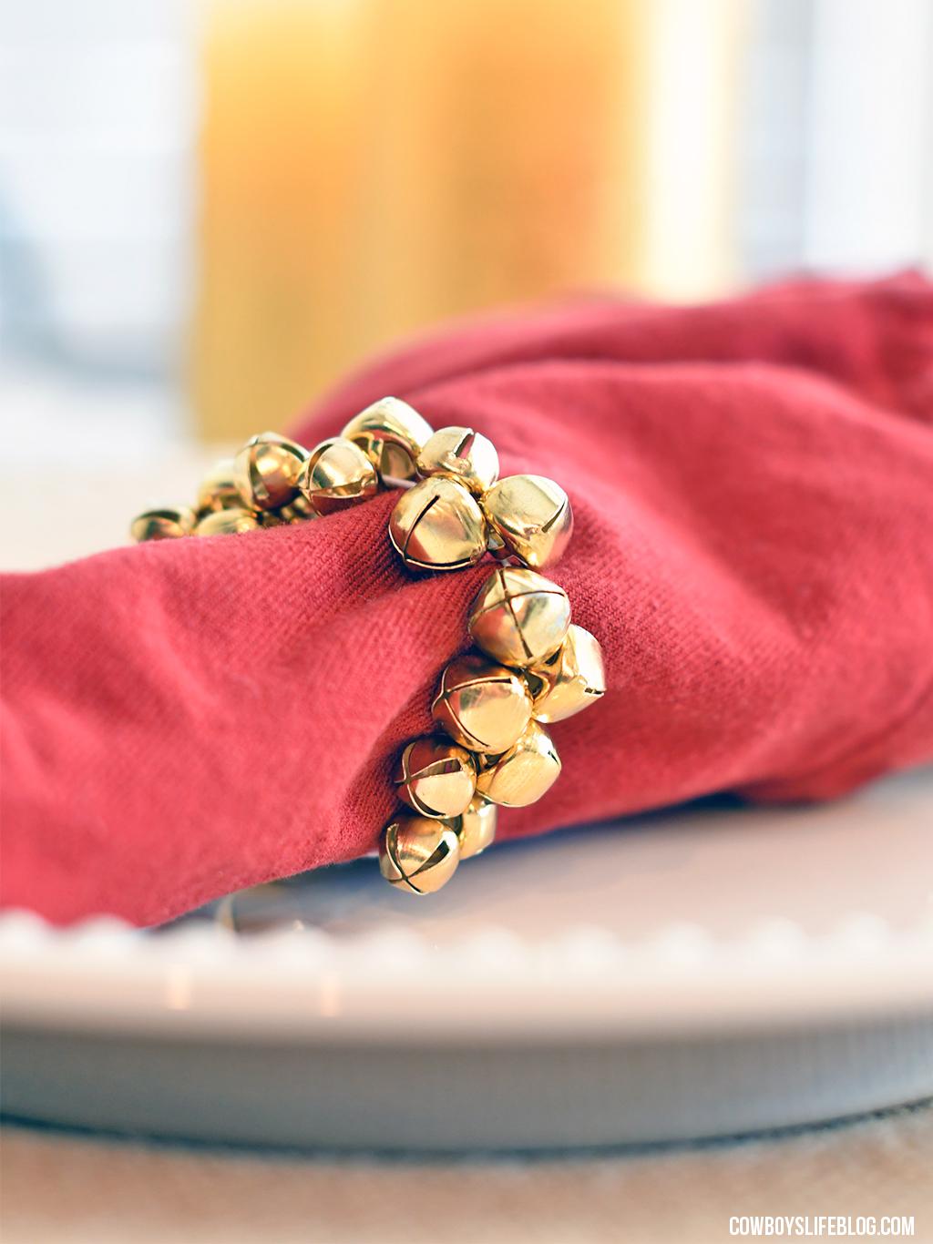 How to make DIY Christmas Napkin Rings