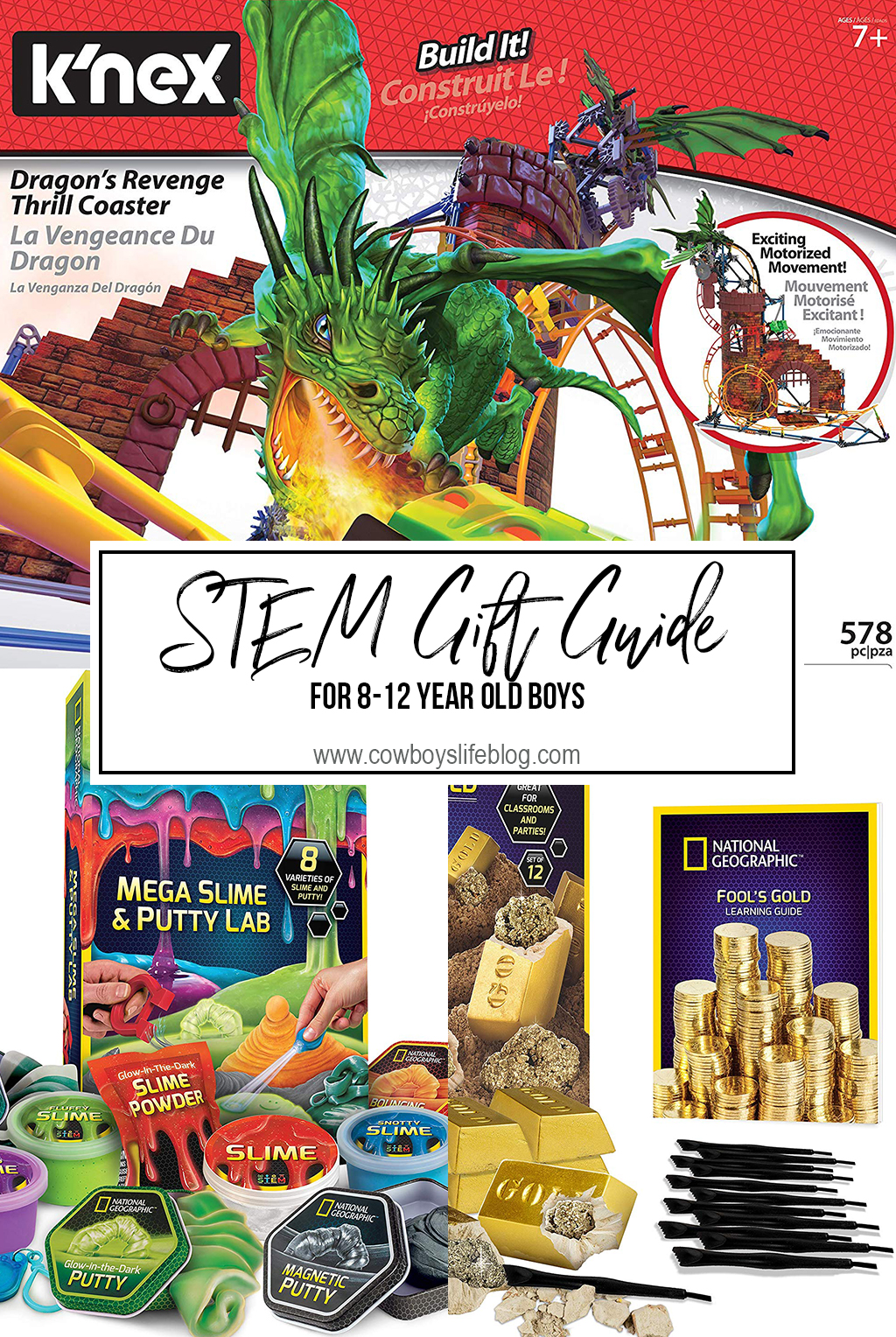 STEM Gifts for 8-12 year old boys