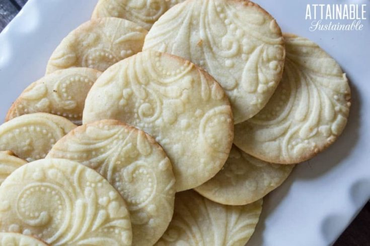 How to Make Sugar Cookies From Scratch -- Chocolate Dipped Cut Outs