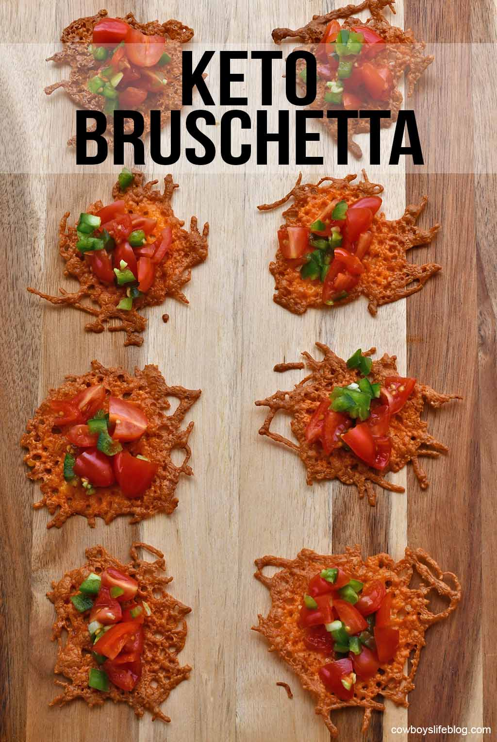 Keto Bruschetta