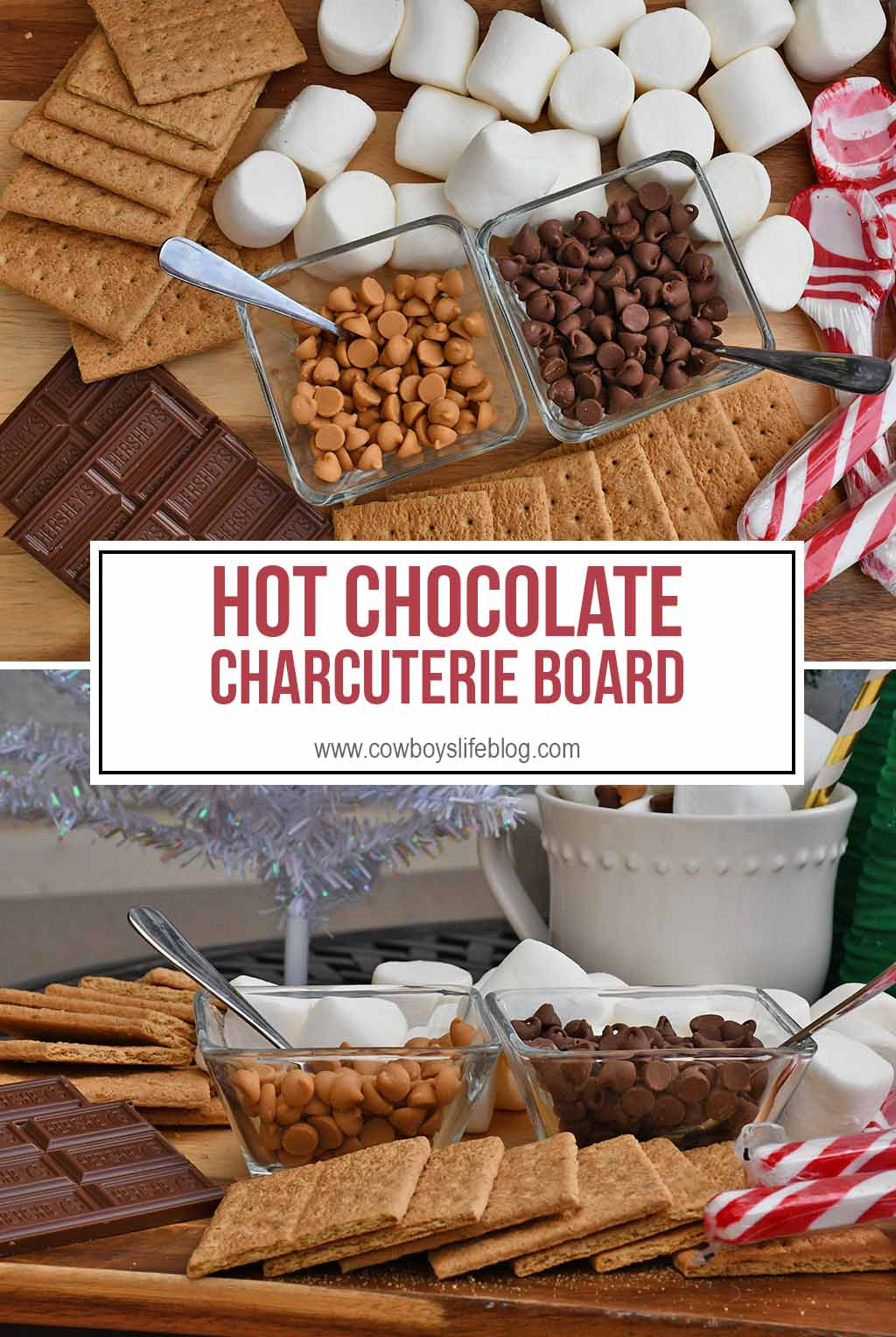Hot Chocolate Dessert Board
