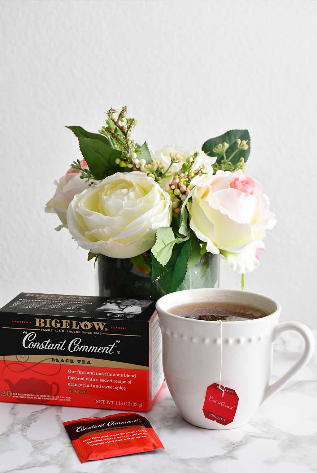 Interested in trying out Bigelow Constant Comment Tea? Hover over the photo to click through for purchasing at Walmart.