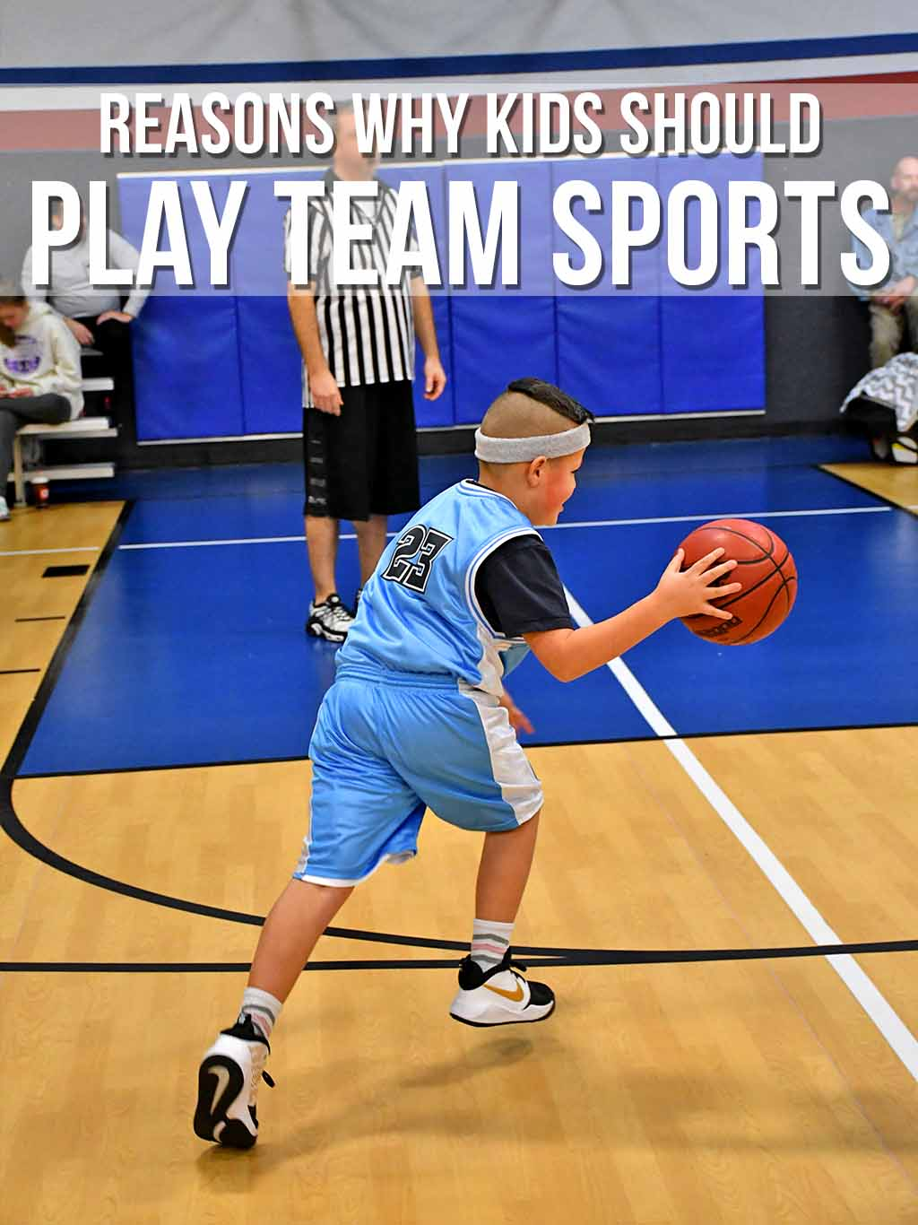 Why kids should play team sports