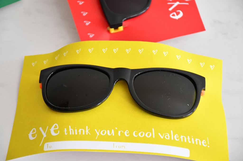 EYE think you're cool valentine!