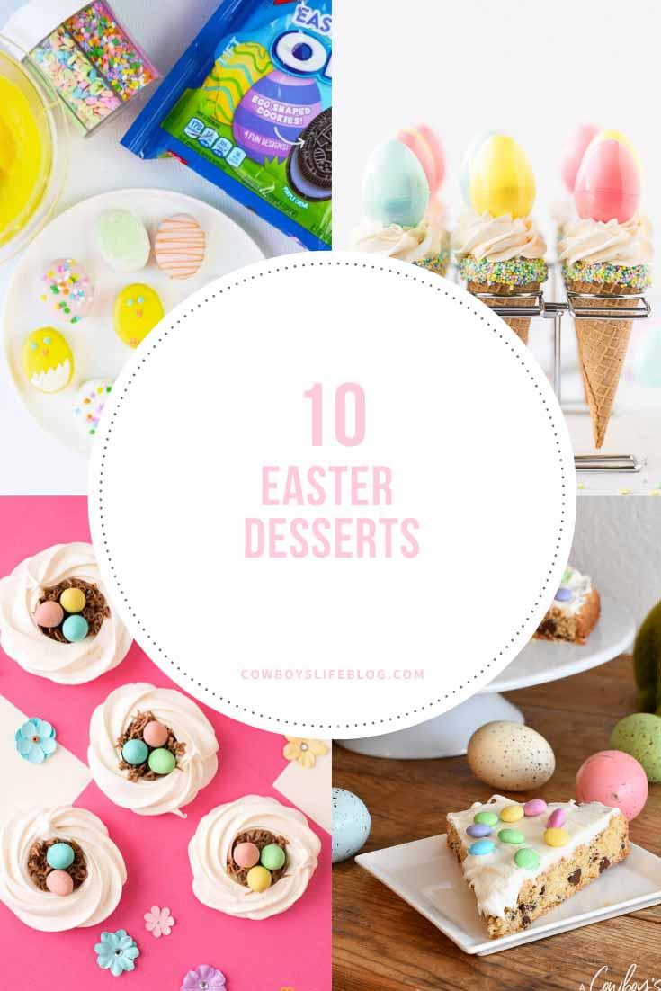 10 AMAZING EASTER DESSERT RECIPES