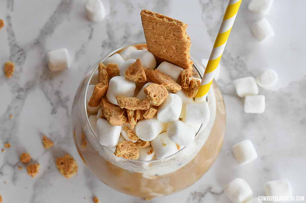 How to make S'mores Cold Brew Coffee Float