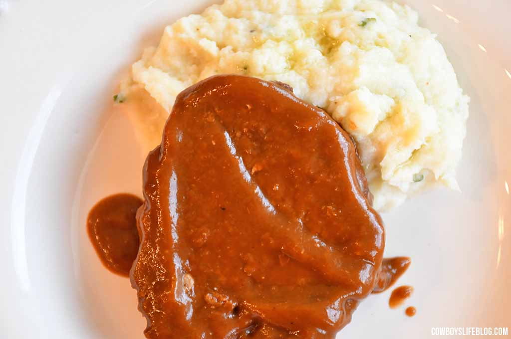Air Fryer Salisbury Steak Recipe