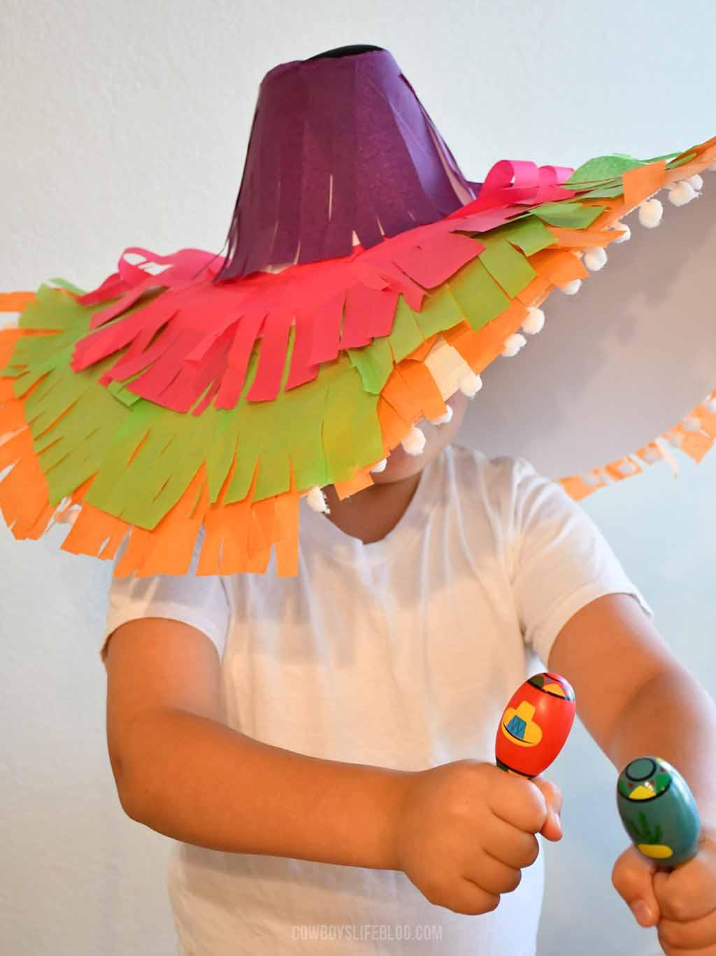 DIY Sombrero Craft
