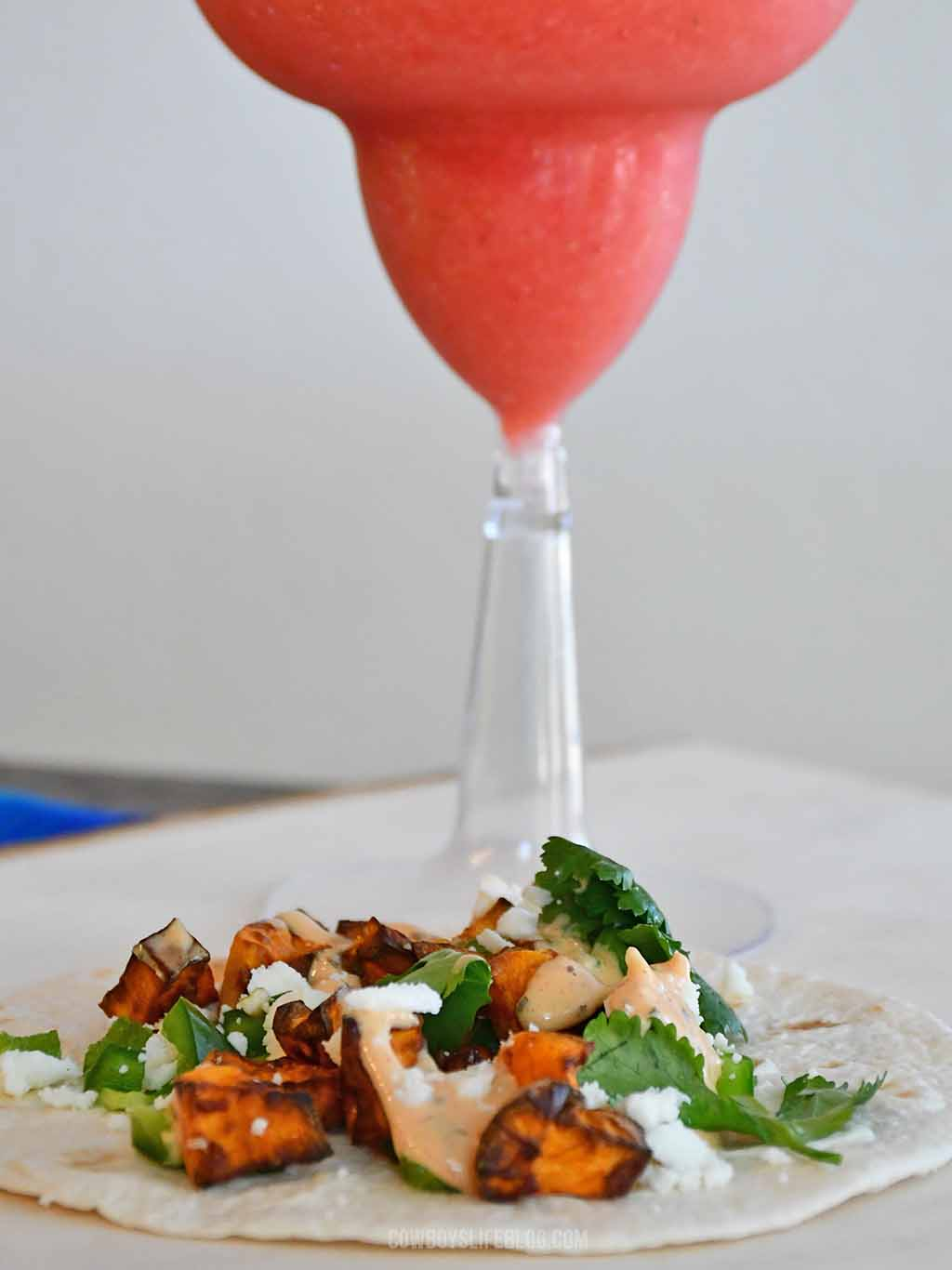 How to make sweet potato tacos