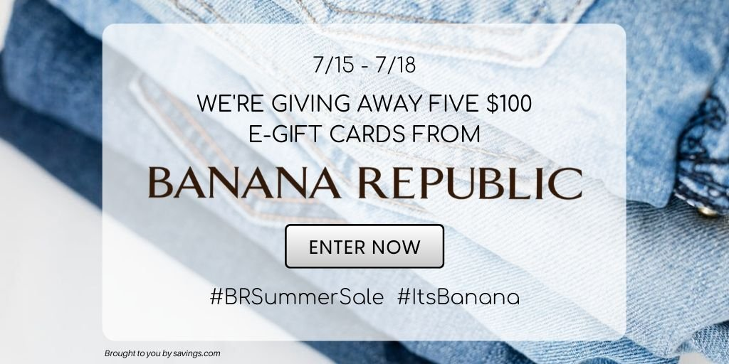 Banana Republic GC Giveaway!