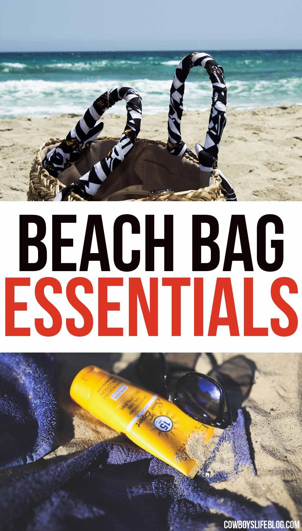 The Minimal Beach Bag Essentials