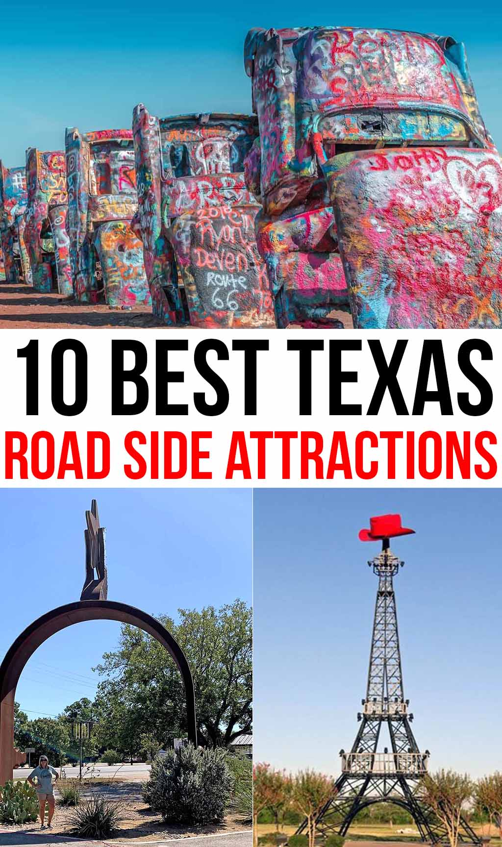 10 Best Texas Road Side Attractions