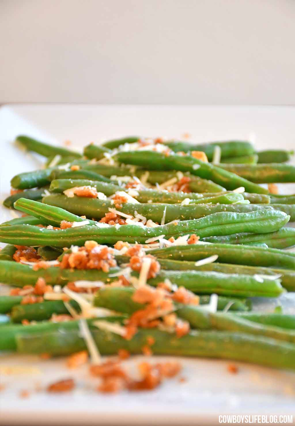 How to Make Roasted Parmesan Green Beans