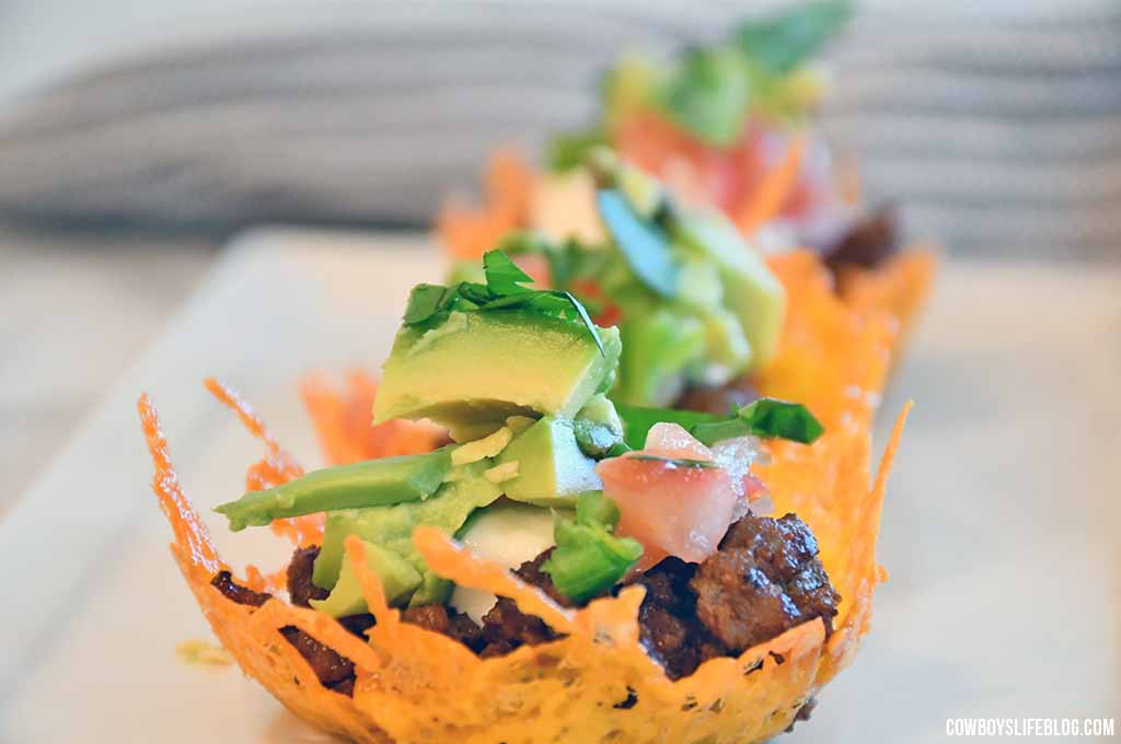 Cheese Shell Taco Cups