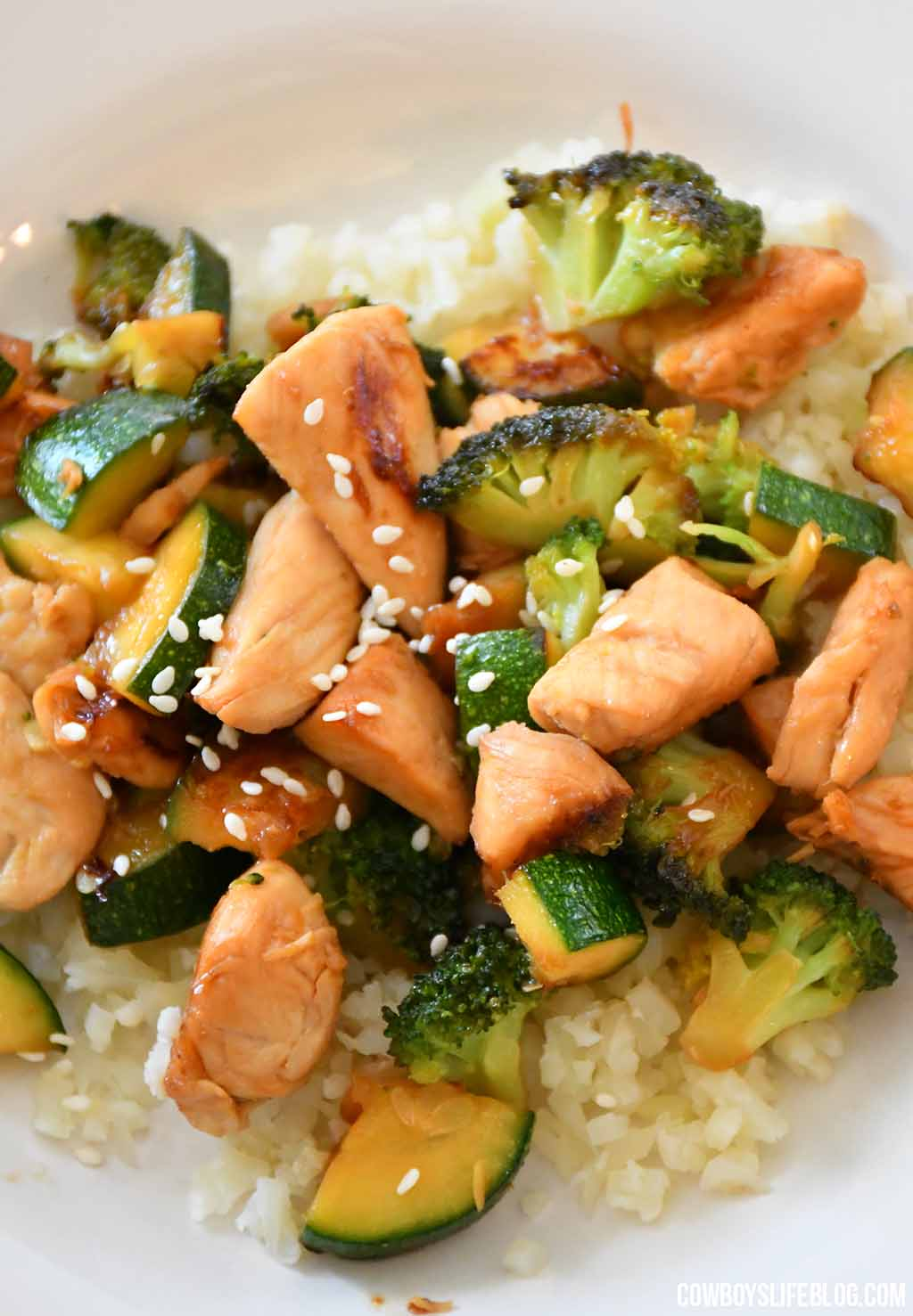 How to make low carb Chicken Stir Fry