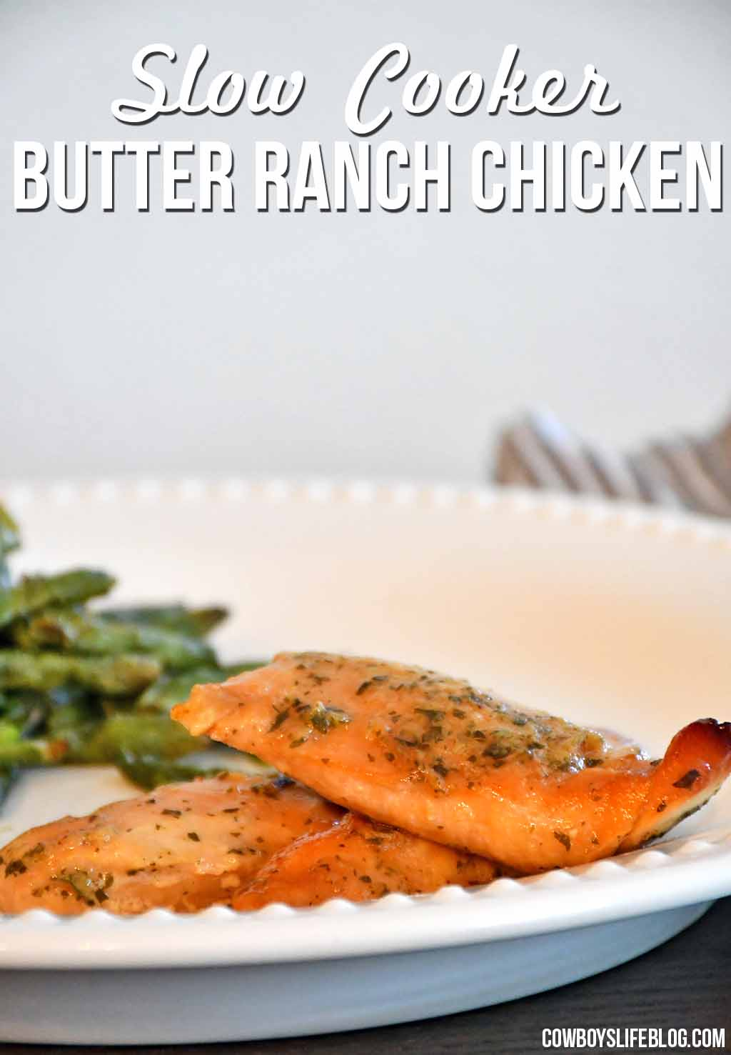 How to make slow cooker butter ranch chicken
