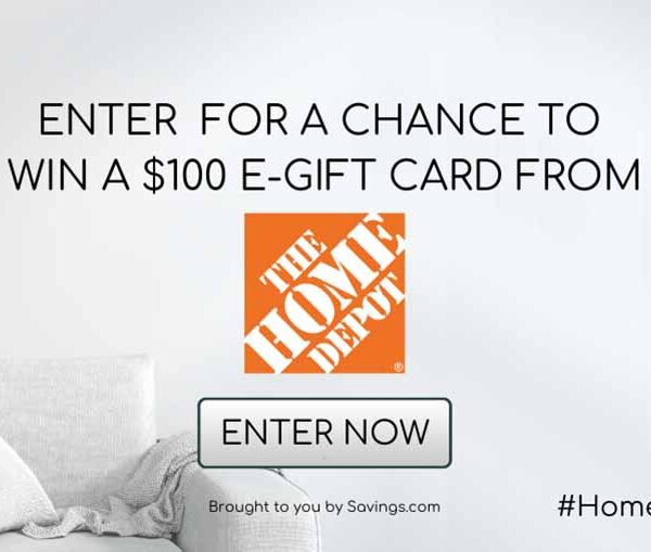 Home Depot GC Giveaway