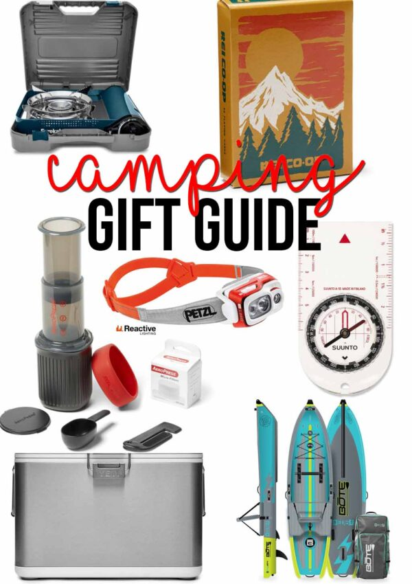 Holiday Gift Guide for Campers