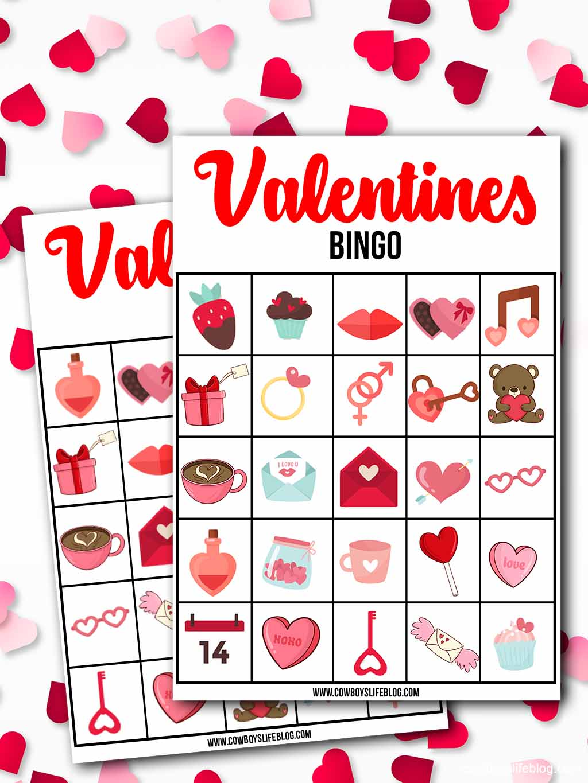 Printable Valentine's Day Bingo Cards