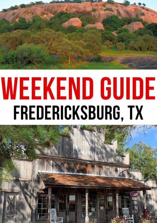 Weekend Guide to Fredericksburg, TX
