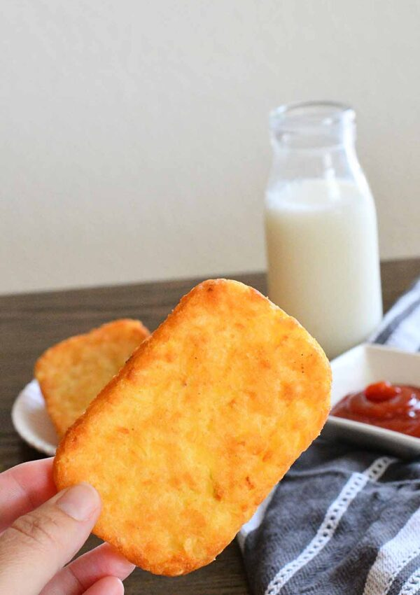 Air Fryer Frozen Hash Brown Patties