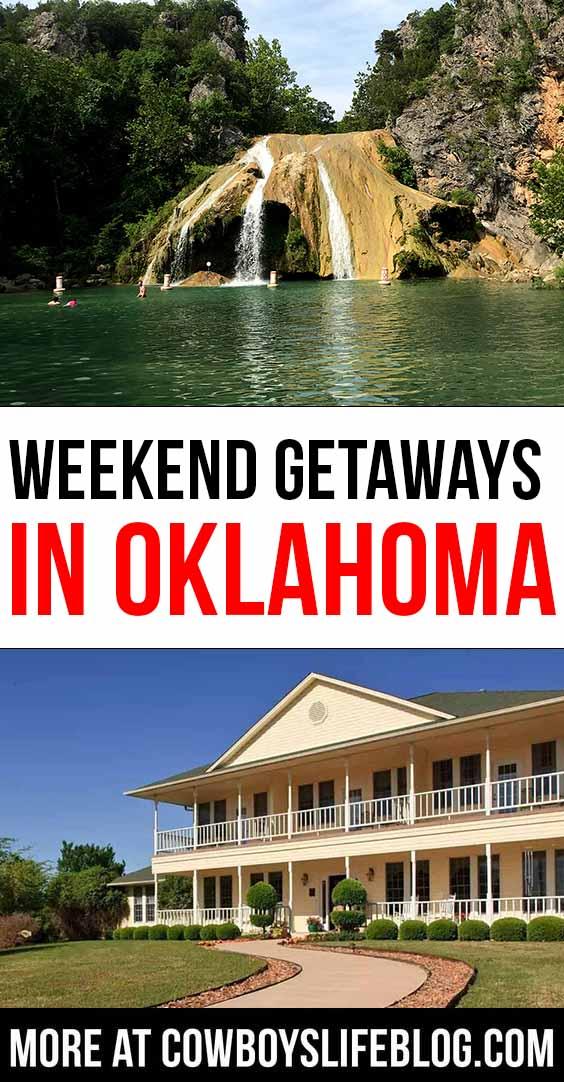 Best Weekend Getaways in Oklahoma