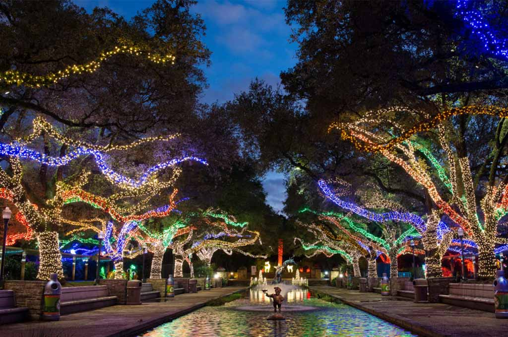 Best Christmas Light Displays in Katy and Houston