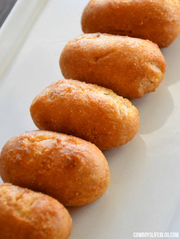 Crispy Air Fryer Corn Dogs